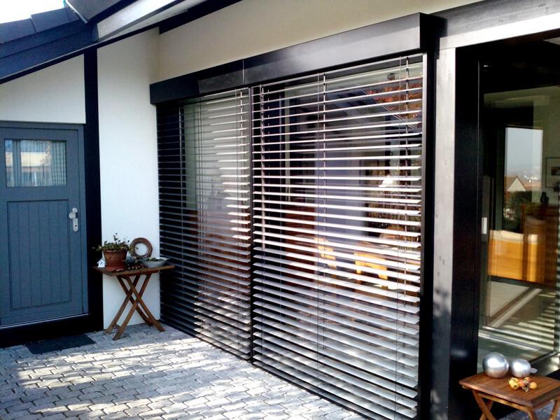 kunden kauften diese au enjalousien bei sonnenschutz. Black Bedroom Furniture Sets. Home Design Ideas
